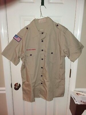 Boy Scout Short sleeve shirt 16-161/2