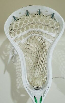 New White Warrior Evo 4 Hs Lacrosse Head Strung W Stringking 2x