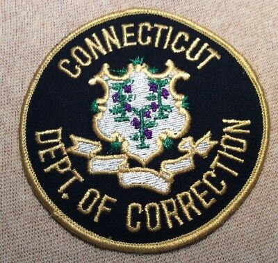 CT Connecticut Department of Correction Patch