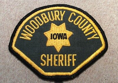 IA Woodbury Iowa Sheriff Patch