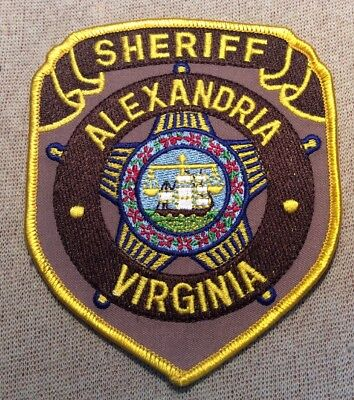 VA Alexandria Virginia Sheriff Patch