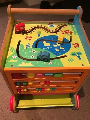 Fisher Price Activity table and 6 in 1 activity Cube And Walker