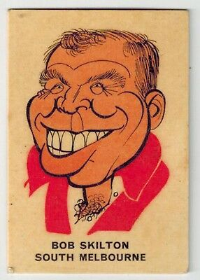 Sun Valley / Twisties 1968(?) Football Collector Card - VFL AFL -  Bob Skilton