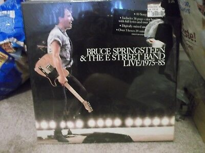 Bruce Springsteen and The E Street Band Live/1975-85  5 Lp set