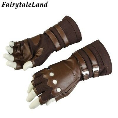 Captain America Gloves Avengers Infinity War cycling Leather Cosplay glove