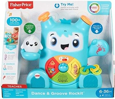 Fisher Price SMART MOVES DANCE GROOVE ROCKIT INTERACTIVE Educational BABY TOY