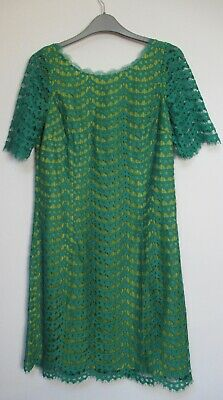 f33aa13336c5 NEW BODEN WOMEN S Summer lace dress - Uk size 12R - Green - WH826 ...