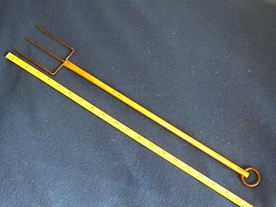 Toasting Fork - Made By Local Engineer - A Quality Item In Very Good Condition.