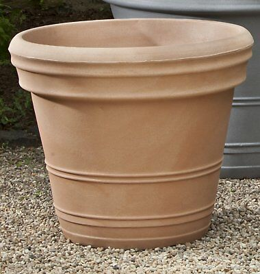 Darby Home Co Jeffry Double Rolled Plastic Pot Rim Planter