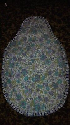 """Pure Wool Hot Water Bottle Cover Hand Made With Pure Cotton Outer """"free Postage"""""""