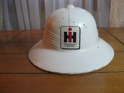 Vintage International Harvester Pith Helmet Rare Estate Find 9-24-17