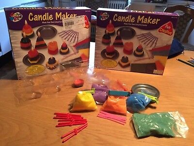 Candle maker Craft wizard Kerzen Gießen Set (2 Sets) Kerzen Kreationen
