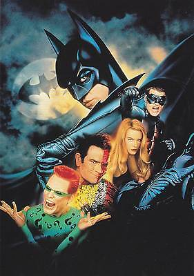 Postcard - Batman Forever - Card No. 1 of a series of 16