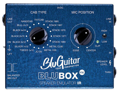 BLUGUITAR BluBOX Virtual Speaker Collection DI-Box