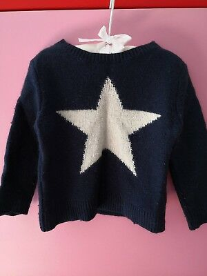 Country Road Girls Winter Jumper Sz 3