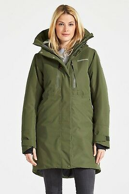 Didriksons Silje Women's Parka Winter Art. 501875-161 Peat Gr. 34 - 48 NEU