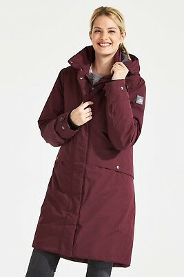 Didriksons Eline Women's Parka Winter Art. 501836-075 Wine Red Gr. 34 - 48 NEU