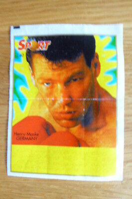 Henry Maske Germany Boxing Kent Gum Wax Wrapper Insert 1996  Rare