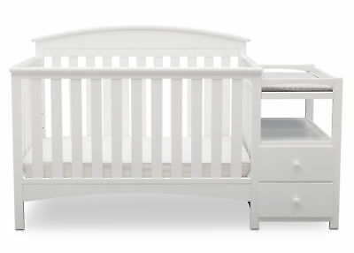 Delta Children Abby 4-in-1 Convertible Crib and Changer by Delta