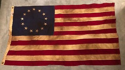 VTG Heritage Series Valley Forge Sewn Stitched 13 Colonies American USA Flag 3x5