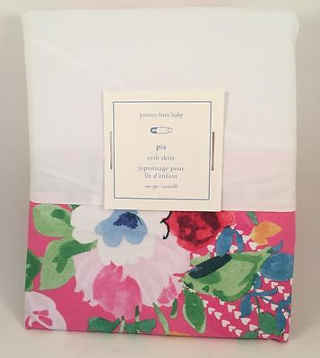 Pottery Barn Kids Pia Crib Skirt NEW IN PACKAGE