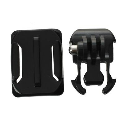 Helmet Curved Surface+3M Sticker+Buckle Basic Mount for GoPro Hero 3 2 1 Ca Z6P2