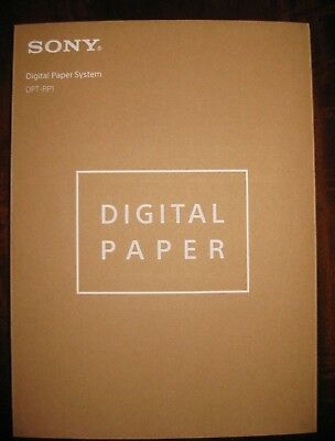 """Sony DPT-RP1 13.3"""" 16GB Digital Paper System DPTRP1/B BRAND NEW DIRECT FROM SONY"""