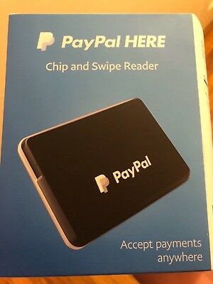 Paypal Card Reader Chip And Swipe Brand New Ships FREE and SUPER FAST