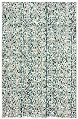 Bungalow Rose Dilip Blue Indoor Outdoor Area Rug 90 99 Picclick