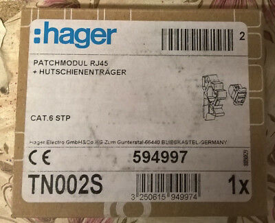 Hager Patchmodul RJ45 TN002S