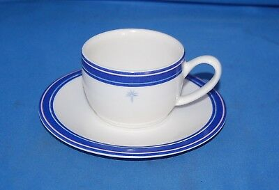 Singapore Airlines cup and saucer/design by Givenchy