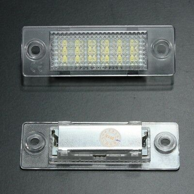 Q5W8 LED License Number Plate Light Lamp VW TRANSPORTER T5 CADDY TOURAN Golf Pas