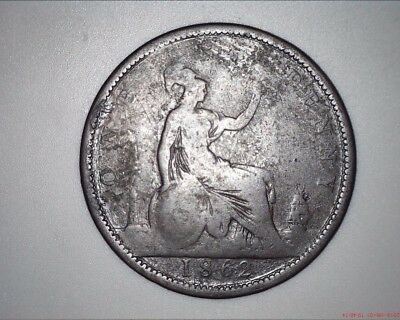 Great Britain - 1862 PENNY