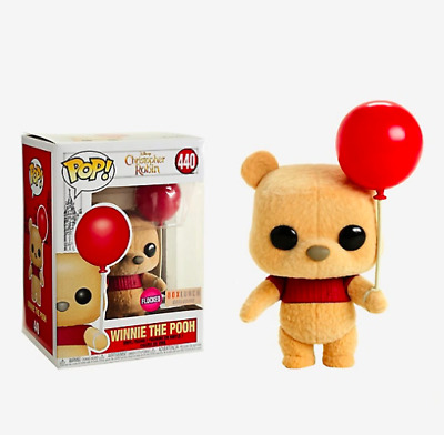 Funko Pop! Winnie The Pooh Flocked - Rare! BoxLunch Exclusive!