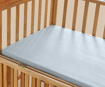 ELEGANT COMFORT 100% Cotton Jersey Knit Fitted Crib Sheet