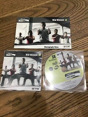 Les Mills Body Balance 38 Instructor Kit - DVD and CD - Excellent Condition