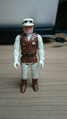 Star Wars Dark Brown Rebel Soldier 1980 Lfl Vintage