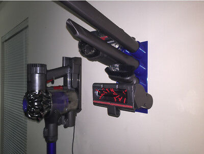 Dyson Tool Tidy for V6 V7 V8 and V10 Holds upto 8 Tools Wall Mounted Black