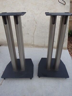 "Alphason Speaker Stands 17"" High Top Stand 6.5"" x 6.5"""