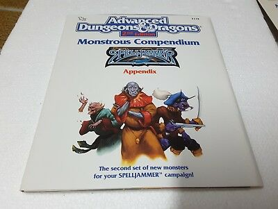 TSR 2119 AD&D 2nd ed Monstrous Compendium Spelljammer II