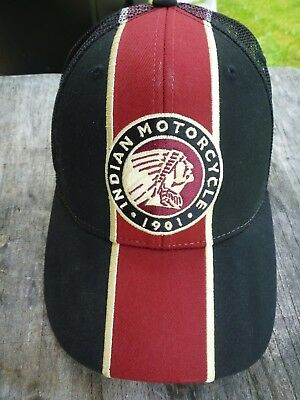 Indian Motorcycles Mesh Back Hat - Adjustable Strap - Pre Owned
