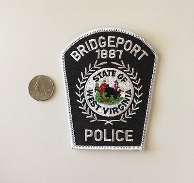 Bridgeport West Virginia Police Department Patch W.Va.