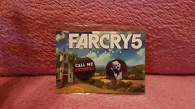 Far Cry 5 Ansteck Buttons (NEU) in OVP