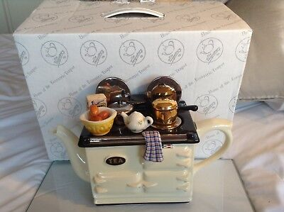 Teapottery Swineside Novelty Collectable Teapot Breakfast Aga Grt Condition Boxd