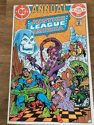 Justice League Of America Annual #1_1983_Very Fine+_Superman_Wonder Woman!