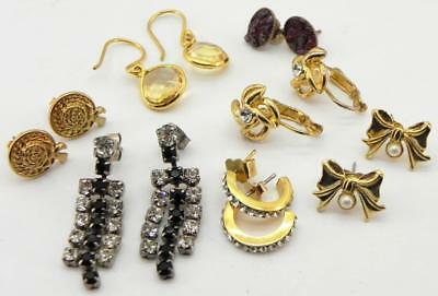 Collection of Vintage Earrings, Mixed / Job Lot.