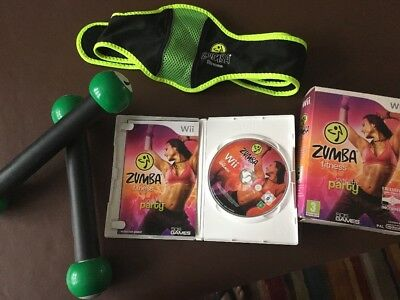 zumba workout dvd Join The Party Full Kit Wii