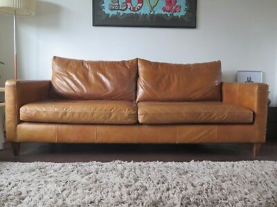 Terrific John Lewis Bailey Grand 4 Seater Leather Sofa 660 00 Forskolin Free Trial Chair Design Images Forskolin Free Trialorg