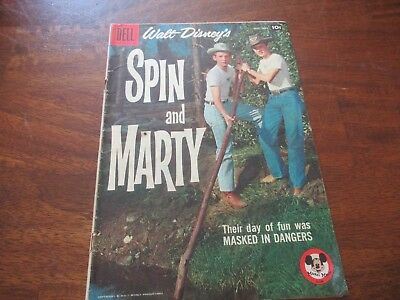 Walt Disney's Spin and Marty #7 (Dell, Sept-Nov 1958)