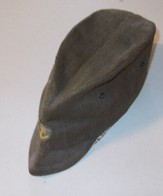 Original WWII Japanese Army or Navy Late War Field Cap
